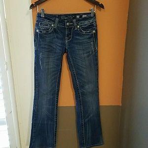 Miss Me jeans 25x29